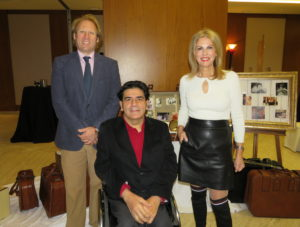 Jornadas familias Aprosub,Gonzalo Rivas, Angela Amate y Juan Antonio Gonzalez